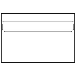 KUVERTA B6-BB,bijela,latex