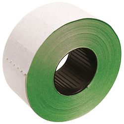 ETIKETE u roli 16x26 zelene,četv.2red.(pk36)