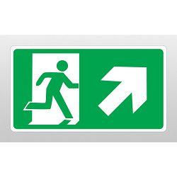 ETIKETE <evakuacijski put,desno gore>