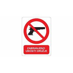 ETIKETE <zabranjeno unošenje oružja>