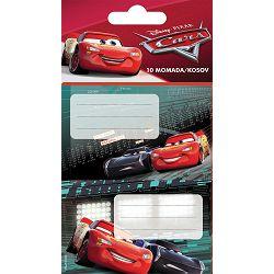 NALJEPNICE za bilježnice, Disney cars 3, 10kom