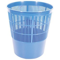 KOŠ za smeće pp 17l, rešetkasti Moplen Giudicarie, plavi