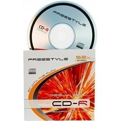 CD-R 700MB 52x slim,Omega
