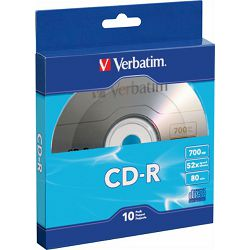 CD-R 700MB 52x slim,Verbatim